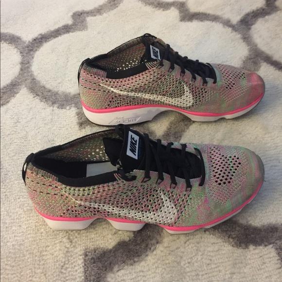 3ea95e4b4e1 Nike Flyknit Zoom Agility Fitness Women's sz 9